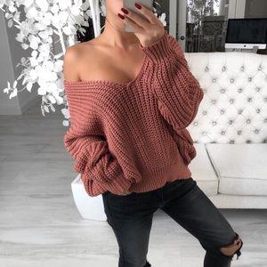 Chunky knit cozy sweater